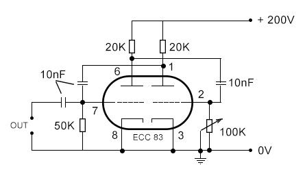 ECC83 multivibrator