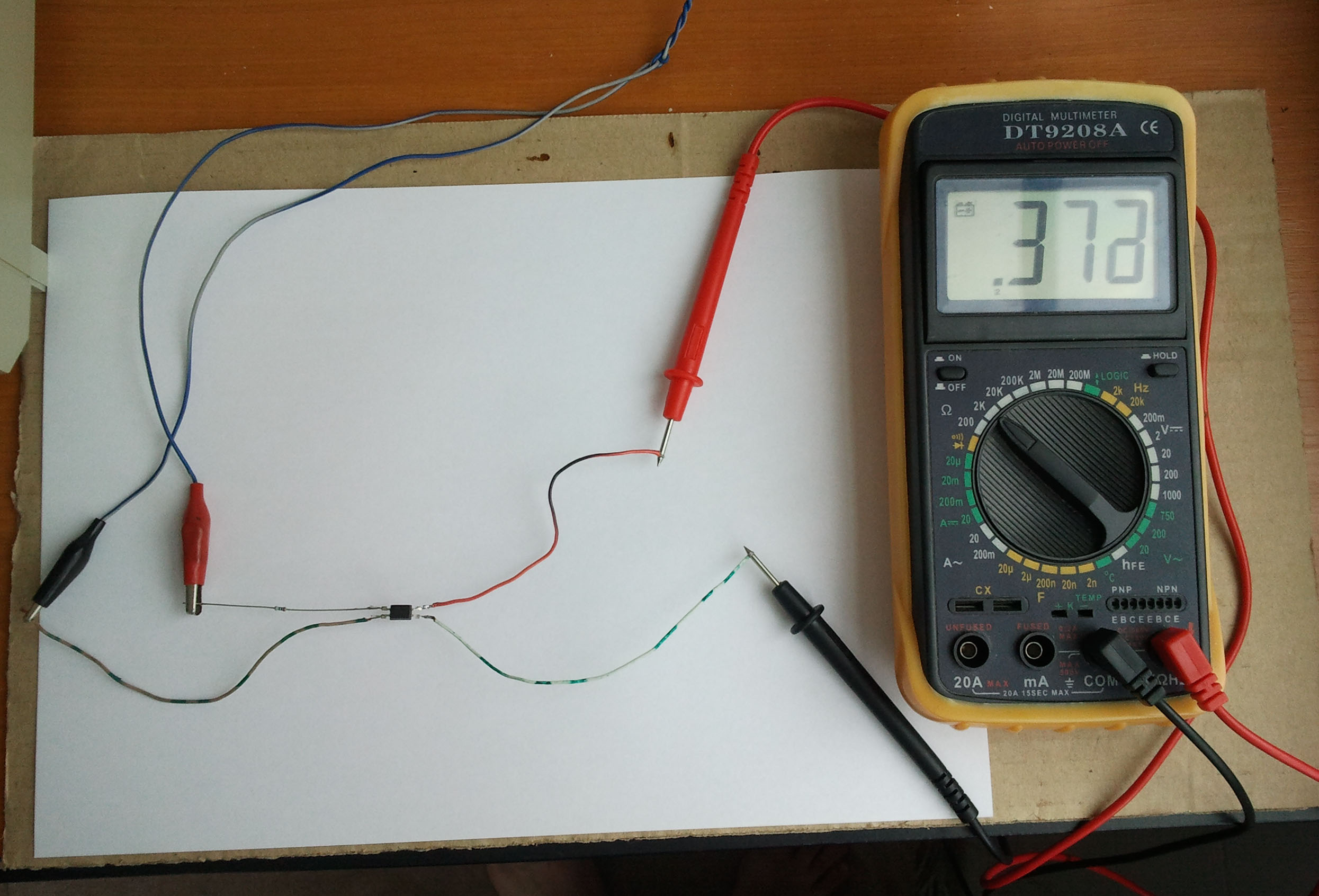 How To Test An Optocoupler Antimath Make A Continuity Tester Circuit Empirical Method